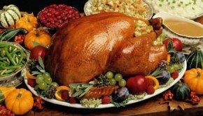la dinde de Thanksgiving