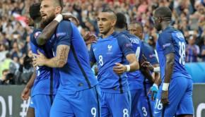 L'équipe de France à l'euro 2016