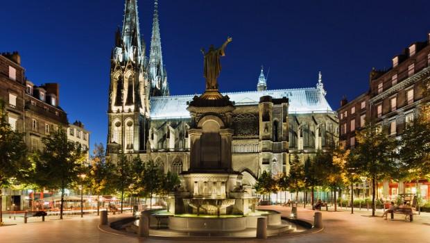 Le centre de Clermont-Ferrand